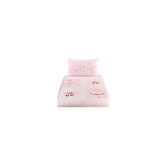 Kids' Ballet Embroidered Duvet Set