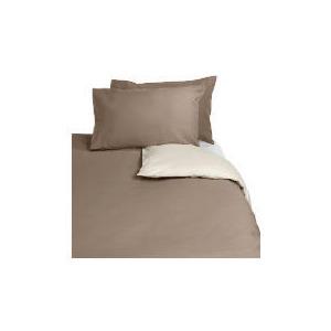 Photo of Tesco Reversible Kingsize Duvet Set, Dark Natural Bed Linen