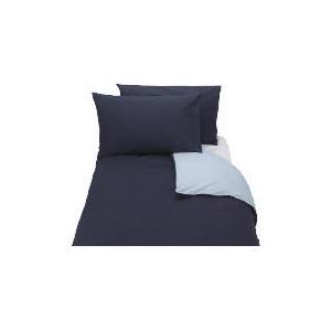 Photo of Tesco Reversible King Duvet Set, Midnight/Powder Bed Linen