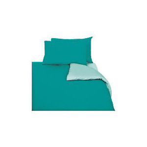Photo of Tesco Reversible Duvet Set King, Aqua Bed Linen