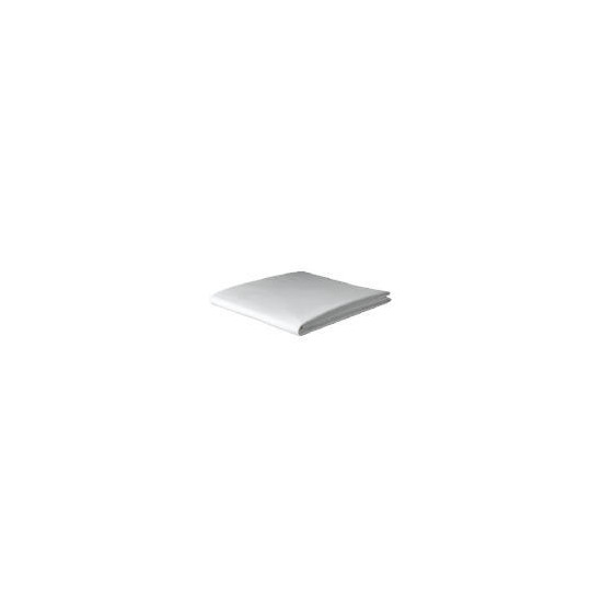 Tesco Organic Cotton Single Flat Sheet, White