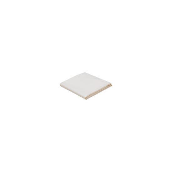 Finest Super King Flat Sheet - Ivory