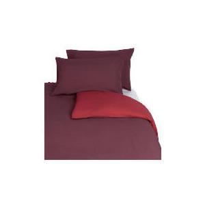 Photo of Tesco Reversible Kingsize Duvet Set, Red Bed Linen