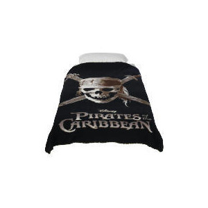 Photo of Disney Pirates Of The Carribean Fleece Blanket Bed Linen