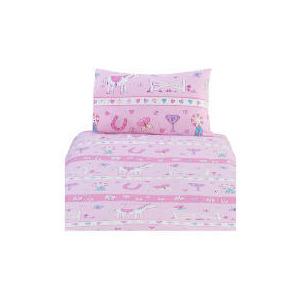 Photo of Kids' Pony Printed Duvet Set Bed Linen