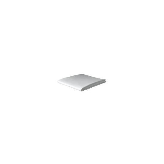 Tesco Organic Cotton Double Flat Sheet, White