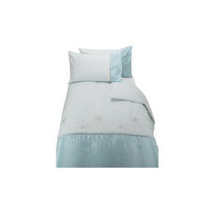 Photo of Tesco Lily Embroidered Single Duvet Set Bed Linen