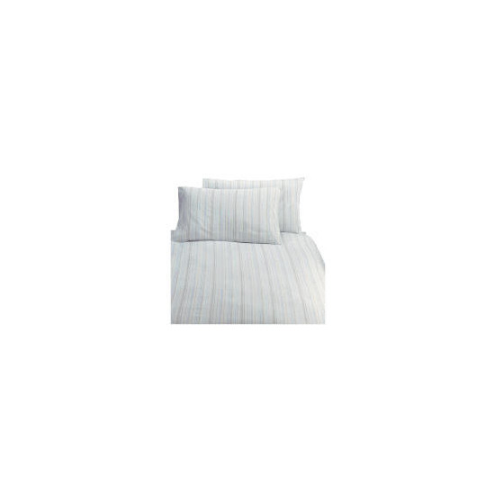 Tesco Coastal Stripe Single Duvet Set