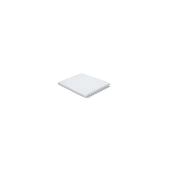 Finest Super King Fitted Sheet, White