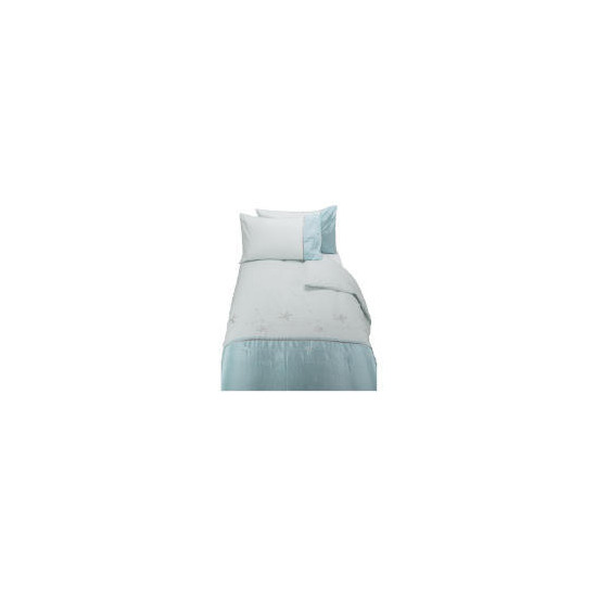 Tesco Lily Embroidered King Duvet Set