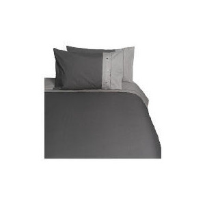 Photo of Tesco Loft  King Duvet Set, Neutral/Graphite Bed Linen