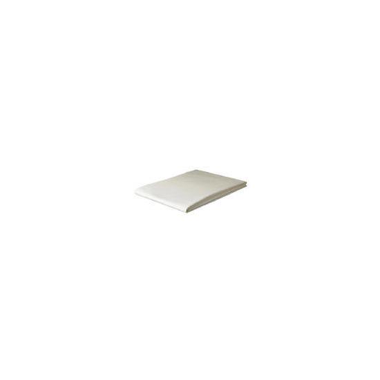 Finest King Flat Sheet, Ivory