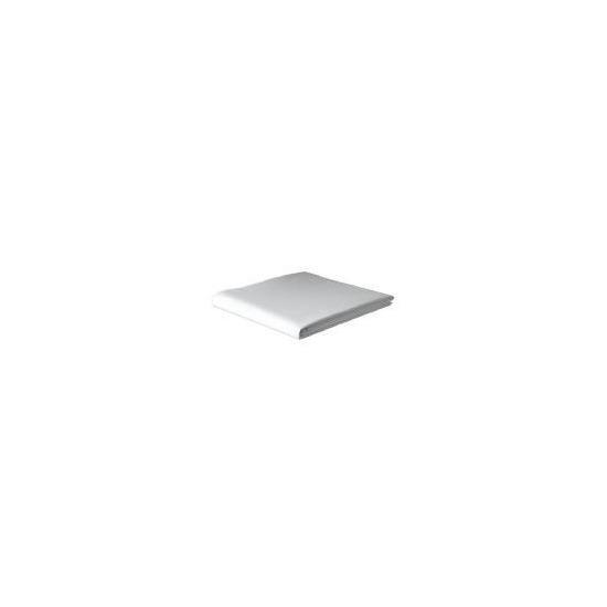 Finest King Flat Sheet, White