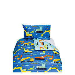 Kids' Trucks & Diggers Printed Duvet Set Reviews