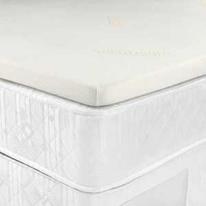 Photo of Silentnight Impress Memory Foam Kingsize Mattress Topper Bedding