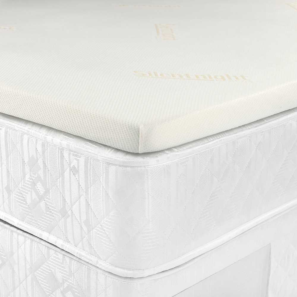Silentnight Memory 1000 Mattress Review: Silentnight Impress Memory Foam Kingsize Mattress Topper