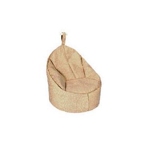 Photo of Tesco Faux Barkweave Bean Palm Chair, Natural Furniture
