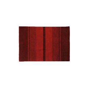 Photo of Tesco Striped Rug, Red 90X150CM Furniture