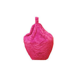 Photo of Kids' Faux Fur Beanbag, Pink Furniture