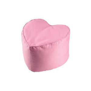 Photo of Kids' Heart Pouffe Pink Furniture