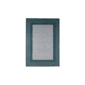 Photo of Tesco Border Wool Rug, Duck Egg 120X170CM Furniture