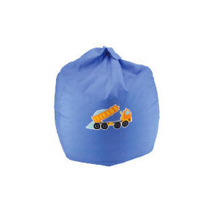 Photo of Kids' Applique Beanbag Trucks & Diggers Furniture