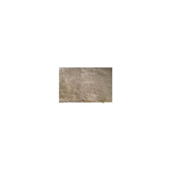 Tesco Luxurious Shaggy Rug, Natural 120x170cm