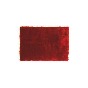 Photo of Tesco Luxurious Shaggy Rug, Red 120X170CM Furniture