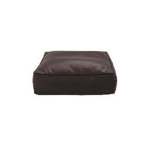 Photo of Tesco Faux Leather Bean Slab, Chocolate Furniture