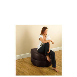 Tesco 3 in 1 Foldaway Bean Seat Faux Leather, Chocolate Reviews