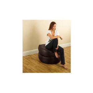 Photo of Tesco 3 In 1 Foldaway Bean Seat Faux Leather, Chocolate Furniture