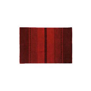 Photo of Tesco Striped Rug, Red 60X120CM Furniture