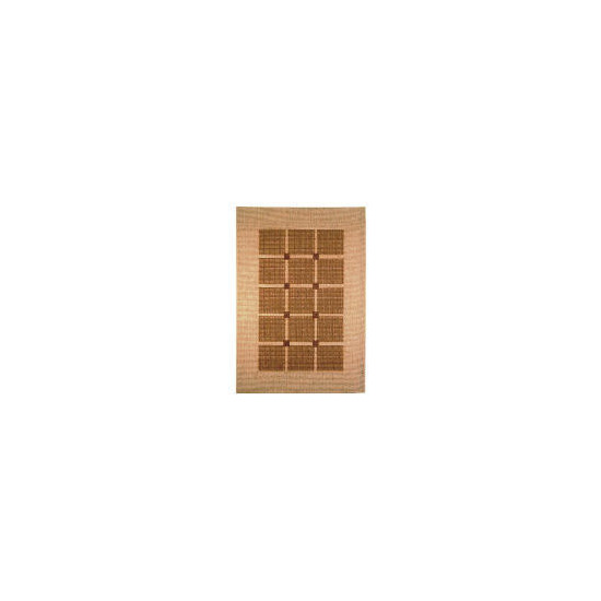 Tesco Flatweave Rug Squares, Natural 170x230cm