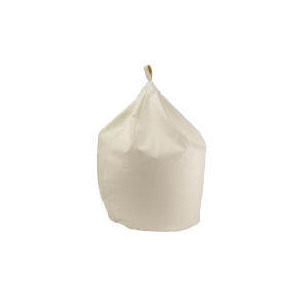 Photo of Tesco Faux Leather Beanbag, Cream Furniture