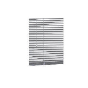 Photo of Aluminium Venetian Blind, Silver 90CM Blind
