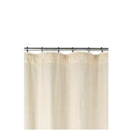 Linen Effect Unlined Pencil Pleat Curtainss, Natural 168x137cm Reviews
