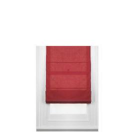 Fabric Roman Blind, Berry 100cm Reviews