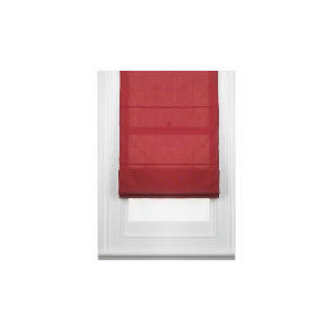 Photo of Fabric Roman Blind, Berry 100CM Curtain