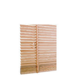 Wood Venetian Blind, Natural 120cm Reviews