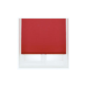 Photo of Thermal Blackout Blind, Red 180CM Curtain