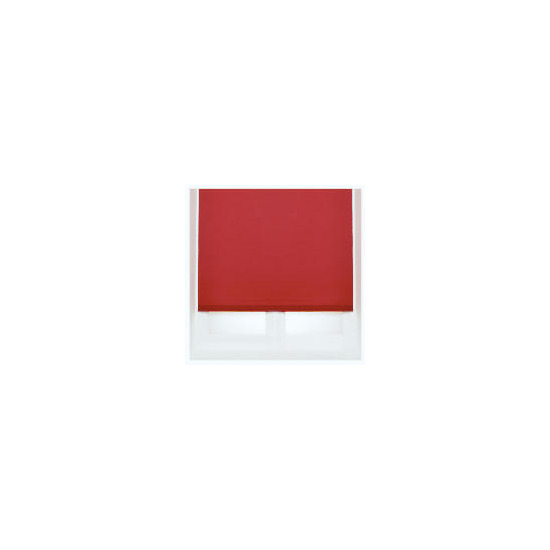 Thermal Blackout Blind, Red 180cm