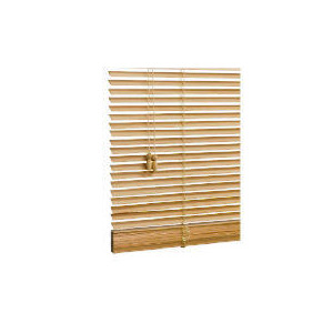 Photo of Wood Venetian Blind, Natural 180CM Blind