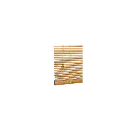 Wood Venetian Blind, Natural 180cm