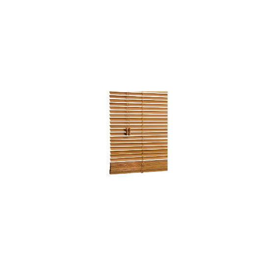 Wood Venetian Blind, Oak Effect 90cm