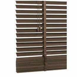 Wood Venetian Blind, Mocha 180cm Reviews