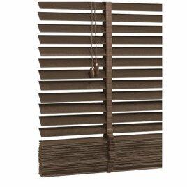 Wood Venetian Blind, Mocha 180cm Reviews
