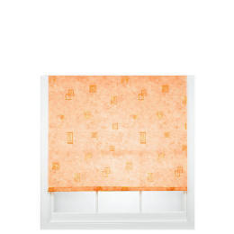 Square Printed Roller Blind, Terracotta 180cm Reviews