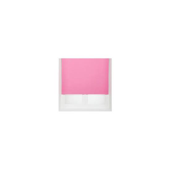 Thermal Blackout Blind, Pink 90cm