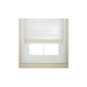 Photo of Fabric Roman Blind, Natural 120CM Blind
