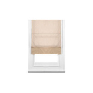 Photo of Fabric Roman Blind, Taupe 80CM Curtain